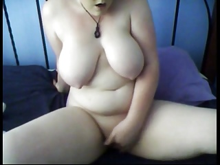 Chubby Teen friend fingering her wet pussy in the morning