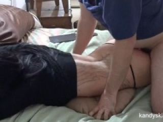 She wouldn't let him pull out – he had no choice but to cum inside HD