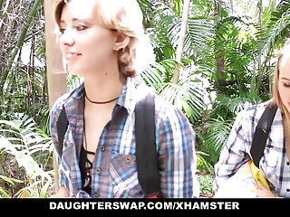 not daughterSwap-  Trip Turns into not daughter Fucking