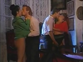 Vintage Threesome Sex