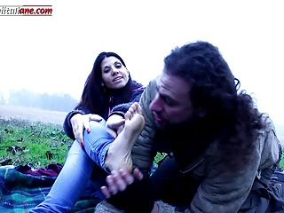 Lost In The Country Second Part- Outdoor Barefoot