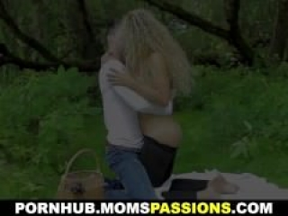 Moms Passions – Romantic fuck on a picnic blanket