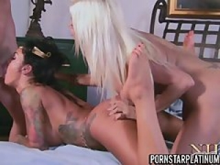 2 Of MY Favorite Pornstar Do A Threesome