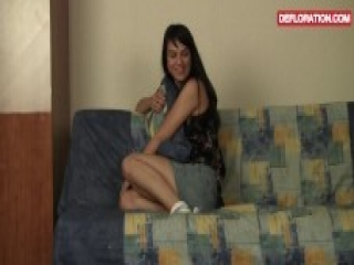 Casting of a shy and horny teen Politruk