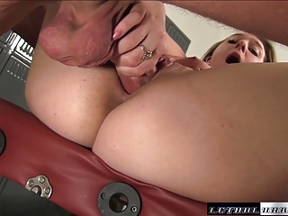 Brooke Wylde big tit massage hard fuck