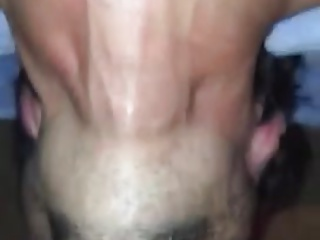 Huge black cock deepthroated like a pro
