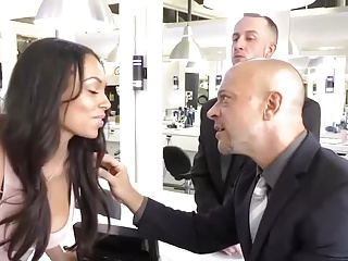 Bethany Benz gets a threesome