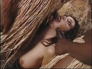 2 back tribesmen fuck hot brunette