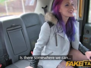 Fake Taxi Filthy hot goth loves anal fucking