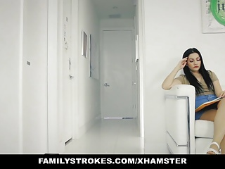 Strokes- not Step sis fucked next to her MOM