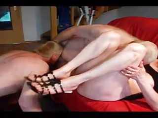 Amateur – Bisex Mature Blond Couple – Three Scenes