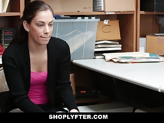 Shoplyfter – Teen Brutally Fucked For Stealing Records