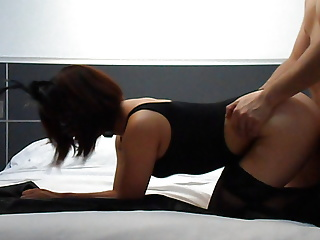 fucking my slave white her mask and leotard