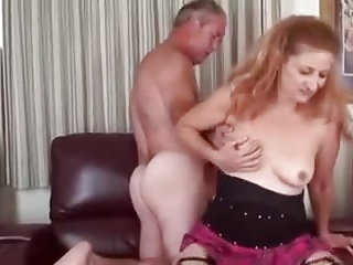Bisex mature couple and friend 2
