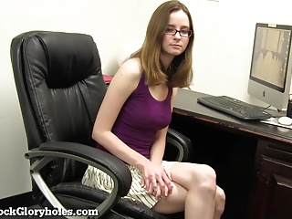 Cute Office Girl Is A Secret Slut!