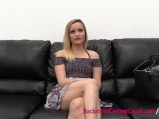 Tiny Petite Blonde Spinner Anal On Casting Couch