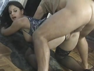 young babe join old age orgy