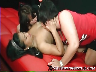 Velvet Swingers Club threesome party Real amateur Euro swing