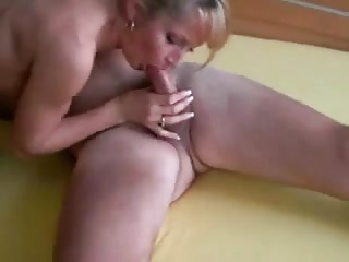 Blonde Threesome Wife is not Camera Shy