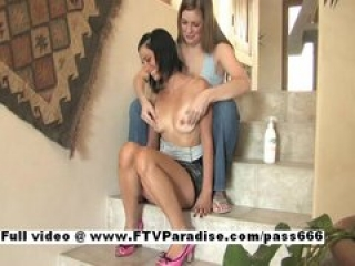 Jamee and Danielle funny lesbians does massage