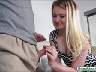 Teenie Sophie Sativa pounded by stepdad