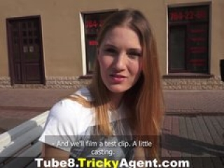 Tricky Agent – Fucked on cam for the first time
