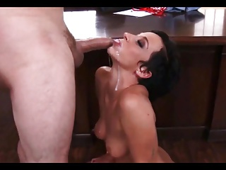cum on her tongue compilation 6