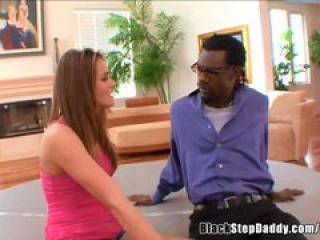 White Daughter Fucking Her Black Stepdad