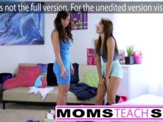 Mom and daughter fuck monster cock