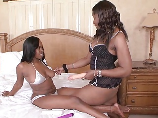 Ebony Milf vs Young Ebony Teen