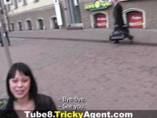 Tricky Agent – Would you ever think she was a dancer?!