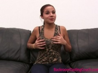 EXCLUSIVE FULL VIDEO – Incredible Audrey on Backroom Casting Couch