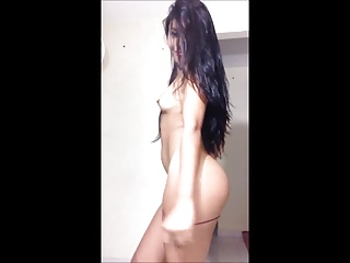 petite amateur spanish babe dancing and stripping