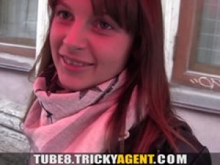 Tricky Agent – A girl rescued from the rain gets seduced!