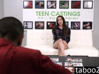 Jade Dylan Tied Up and Fucked on the Casting Couch