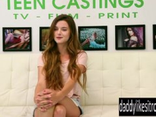 Alex Mae Endures BDSM & Rough Sex on the Casting Couch