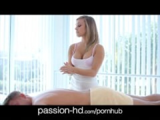 Passion-HD Dick Massage Turns Passion Sex
