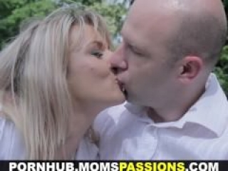 Moms Passions – Making love to romantic mom