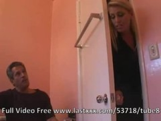 Blonde teen fucks her step dad