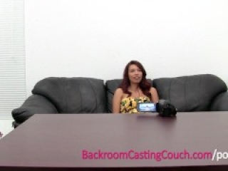 Funny Sexy Colombian Babe Anal and Creampie Casting
