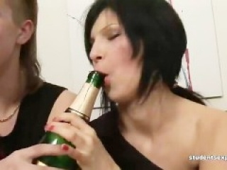 Everybody Loves The Drunk Slut At A Party