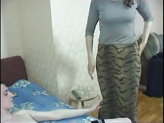 Hot milf and her younger lover 370