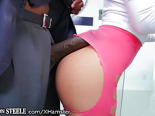 Cute Little Gina Valentina take HUGE BBC