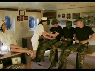 Orgy in the army.