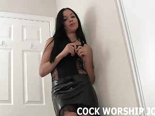Suck his cock and I will let you fuck me, maybe