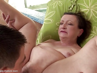 Anal group sex and pee on snow with mature moms