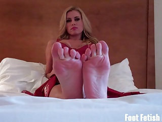 Pamper and worship my sexy size ten feet