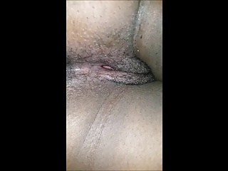 Fucking an african girl with dotted condom