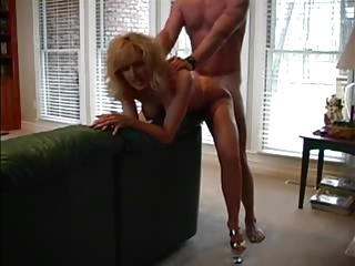 MILF fucked and creampie