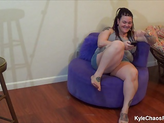 Pierced and Tattooed BBW Mind Control BJ – Behind the Scenes